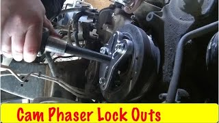 Download Ford 5.4 3V Removing the Cam Phasers and Chains Video