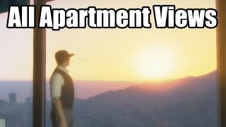 Download GTA Online: High End Apartment Views (Apartments with 10 Car Garages) Video