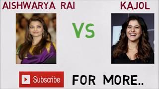 Download Aiswarya Rai vs Kajol Comparison 2017 Video