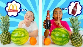 Download TIANA CHEATED!! Twin Telepathy Milkshake Challenge!!! Video
