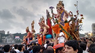 Download MUMBAI GANESH VISARJAN AT GIRGAON CHOWPATTY : GANPATI VISARJAN 2016 Video
