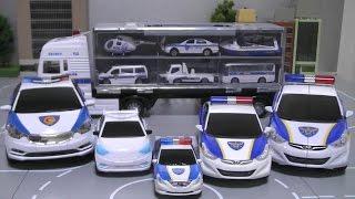 Download 헬로카봇 또봇C 경찰차 장난감 캐리어카 Tobot Hello Carbot Police Cars Toys Video