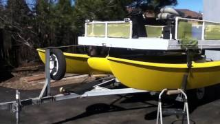 Download Hobie Cat 16 Electric Pontoon Fishing Boat Video