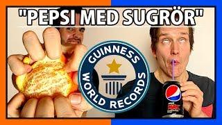 Download KAN VI SLÅ VÄRLDSREKORD? | Dricka & äta snabbt Video