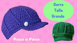 Download GORRA CON VISERA EN TALLA GRANDE Video