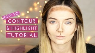 Download HOW TO: Contour & Highlight Makeup Tutorial // MyPaleSkin Video