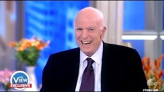 Download McCain: Laughs Hysterically When Ask If He Was Scared Of TRUMP - The View Video