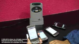 Download Tyfone SideTap MicroSD Memory Card enabling NFC. Demo on Android handsets. Video