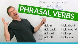 Download Learn 8 KICK Phrasal Verbs in English: ″kick back″, ″kick out″, ″kick up″... Video