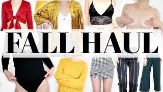 Download *HUGE* Fall Haul & Try On | Meghan Rienks Video