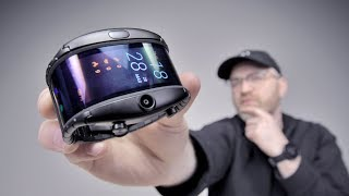 Download The Most Futuristic Flexible Display Phone Video