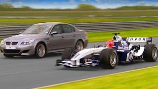 Download Williams F1 vs BMW M5 #TBT - Fifth Gear Video