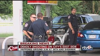 Download Shooting at 34th and Sherman in Indianapolis Video