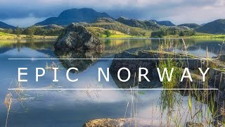 Download Epic Norway - drone aerial video Video
