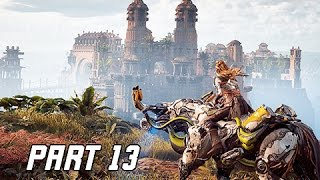 Download Horizon Zero Dawn Walkthrough Part 13 - Meridian City of the Sun (PS4 Pro Let's Play Commentary) Video