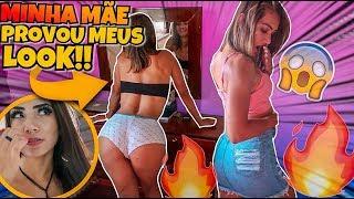 Download MÃE Provando MINHAS ROUPAS!!😱 Video