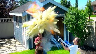 Download Fire Extinguisher Ball vs Flamethrower Video