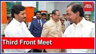 Download KTR-Led TRS Team Meets YSRCP's Jagan Mohan Reddy For Federal Front Talks Video