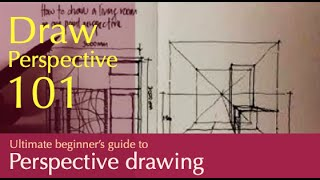 Download how to draw a room in one point perspective... based on a plan Video