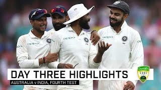 Download India take stranglehold on SCG contest   Fourth Domain Test Video