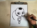 Download COMO DIBUJAR A TIKKI LADY BUG / how to draw tikki - lady bug Video