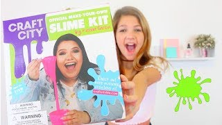 Download Testing KARINA GARCIA'S Target SLIME KIT | How to make Cloud, jiggly, clear glitter Slime Video