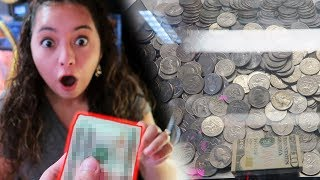 Download HUGE PROFIT at the COIN PUSHER! Video