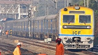 Download 71415 Pune - Solapur DEMU Departing From Hadapsar - Indian Railways Video