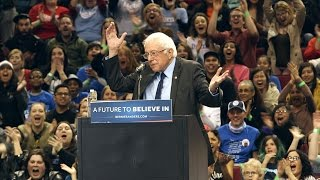 Download Bernie Sanders 'put a bird on it' at Portland rally Video