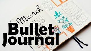 Download BULLET JOURNAL March|Plan with me|Оформление ЛД | Мой Ежедневник Video