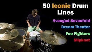 Download 50 Iconic Drum Lines Video