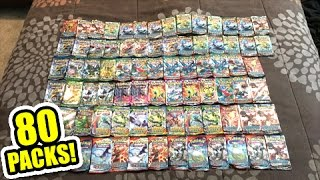 Download OPENING 80 POKEMON CARD BOOSTER PACKS FROM 20 TINS! - Multiple SECRET RARE PULLS! Video