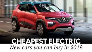 Download 10 Cheapest All-Electric Cars on Sale in 2019 (Price and Range Comparison) Video