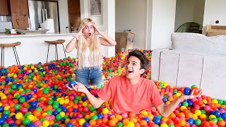 Download FILLING MY FRIEND'S HOUSE WITH PLAY BALLS!! **Freakout Video