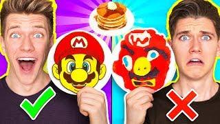 Download PANCAKE ART CHALLENGE 4!!! Learn How To Make Mario Odyssey Star Wars Jedi Nintendo Food DIY Pancake Video