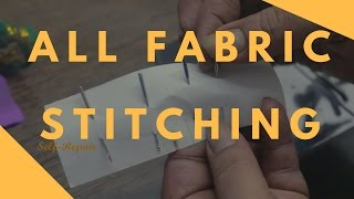 Download अलग अलग कपड़ो पर कोंसी सुई लगाये | All Fabric Stitching | Half Shuttle Video