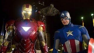 Download Iron Man & Captain America vs Loki - Fight Scene - The Avengers (2012) Movie Clip HD Video