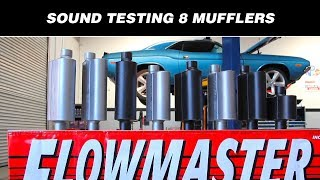 Download Sound Testing: Flowmasters 8 Hottest Mufflers Video