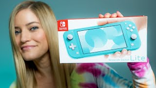 Download Finally got the Nintendo Switch Lite!!! Video
