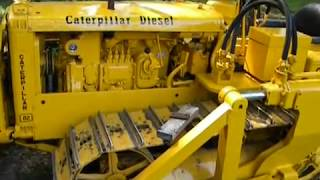 Download Caterpillar D2 D4 detailed starting sequence Video
