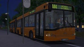 Download OMSI 2. Map Winsenburg, Route M4, Solaris Urbino 18 Video