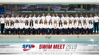 Download SFU Swimming & Diving vs. UBC & UVic - January 18, 2019 Video