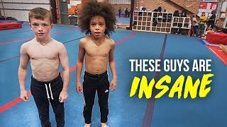 Download 9 YEAR OLDS DO INSANE FLIPS! Video