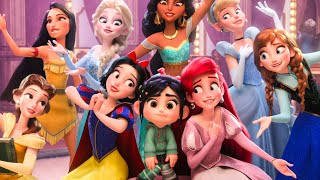 Download WRECK-IT RALPH 2 - Baby Moana, Frozen, Disney Princesses & BuzzTube Funny Scenes (2018) Best Moments Video