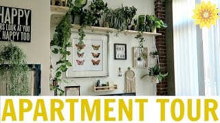 Download APARTMENT TOUR | MY BOHEMIAN LOFT | MEGHAN HUGHES Video