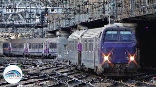Download Quelques trains de Paris Saint-Lazare au nord de Paris. Video