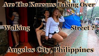 Download Are The Koreans Taking Over Walking Street : Angeles City, Philippines Video