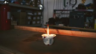 Download Improvising a Candle with Baby Oil and Yogurt Video