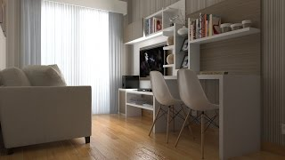 Download Tutorial Vray Sketchup #2 Apartement Interior Video