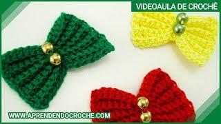 Download Lacinhos de Crochê Menina Bonita- Aprendendo Crochê Video